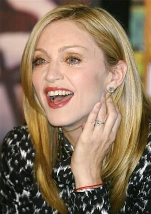 Madonna With Open Smile Pic