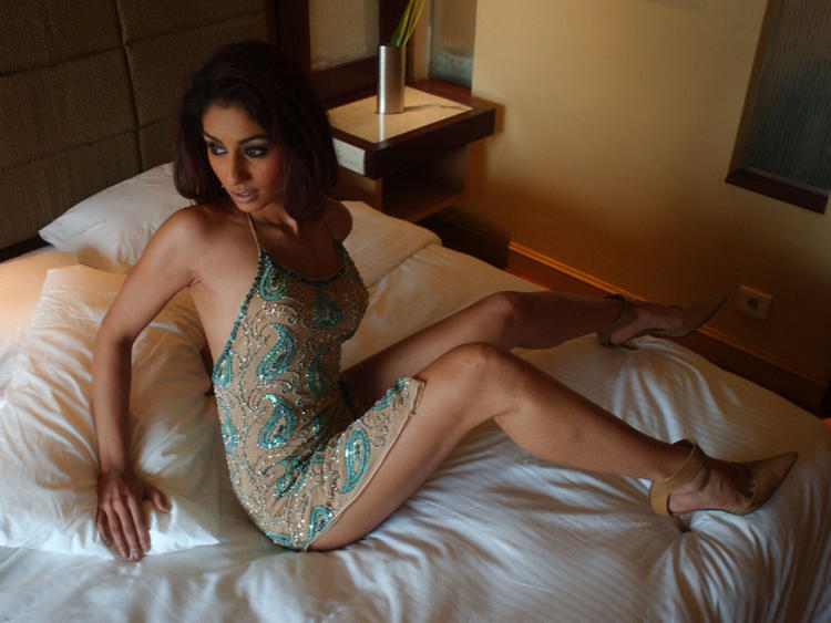 Sexy Mahek Chahal on Bed