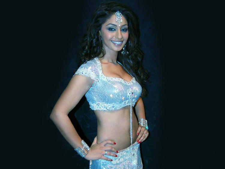 Sexy Smile by Mahek Chahal in Choli and Ghagra