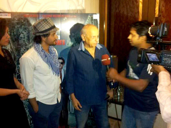 Mahesh Bhatt,Kunal Khemu Promote Their Film Blood Money at 98.3 FM in Delhi