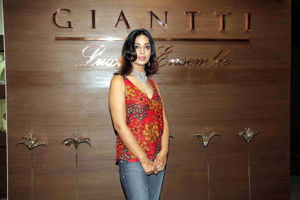 Mahi Gill Red Dress Gorgeous Pic