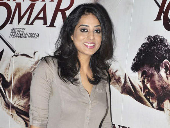 Mahie Gill at promotion of Paan Singh Tomar