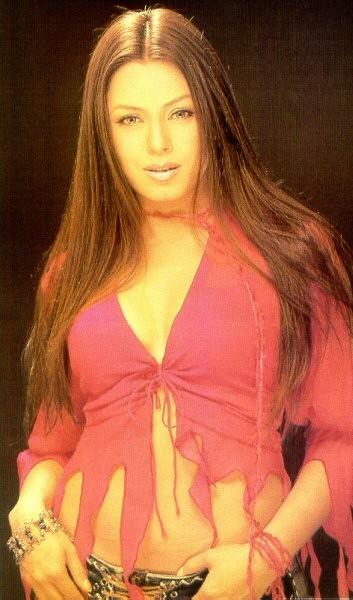 Mahima Chaudhary Silky Hair Hot Navel Pose Wallpaper