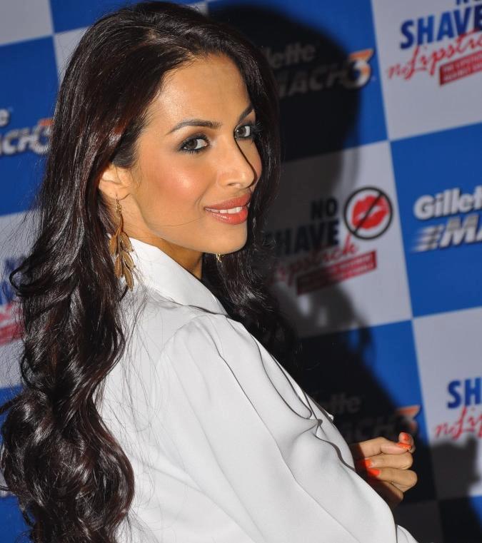 Malaika Arora Khan Launched Gillette No Shave No Lipstick Movement Pic