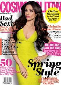Malaika Arora Khan on The Cover of Cosmopolitan India