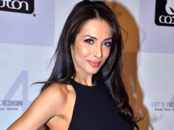 Malaika Arora at  Cotton Council of India's Lets Design contest