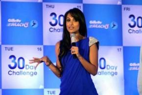 Malaika Arora at Gillette 30 Days Challenge Photo