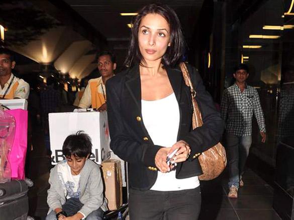 Malaika Arora Returning From Dubai