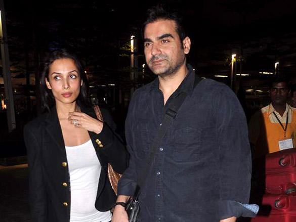 Malaika Arora and Arbaaz Khan Spotted Returning from Dubai