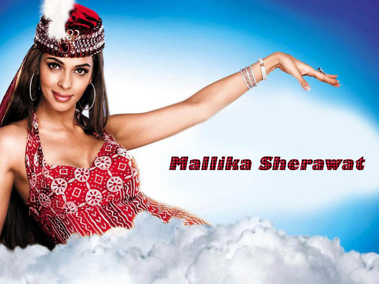 Mallika Sherawat Cute Wallpaper