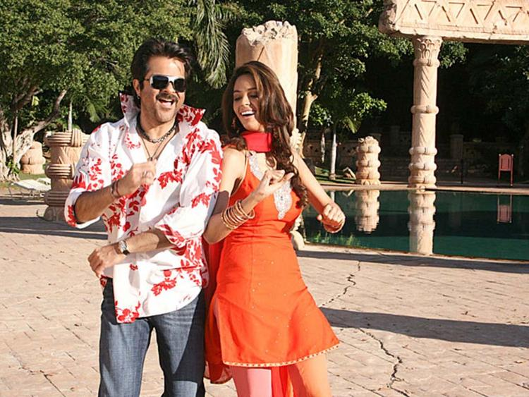 Mallika Sherawat with Anil Kapoor