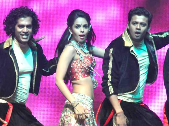 Mallika Sherawat in New Year Bash 2012