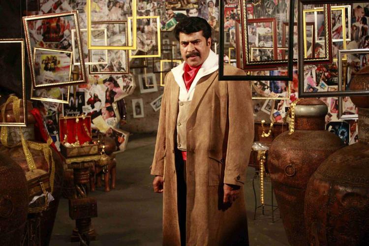 Mammootty Latest Still In Shikari Kannada Movie