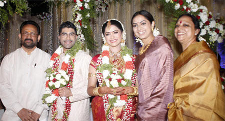 Mamta Mohandas With New Family