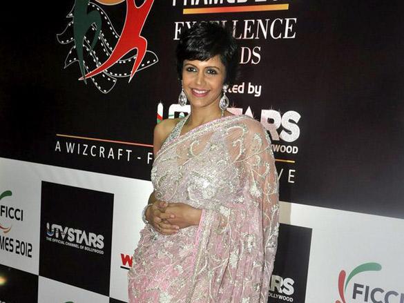 Mandira Bedi at FICCI Frames 2012 Awards