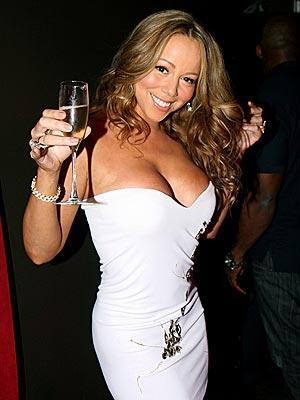 Mariah Carey Open Boob Pic