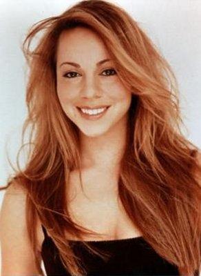 Mariah Carey Red Hair Awesome Face Still