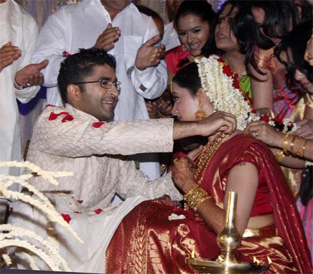 Marriage of Mamta Mohandas