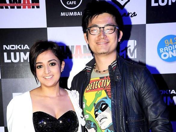 Meiyang Chang at Nokia Lumia and KWAN W.E. Rock Concert