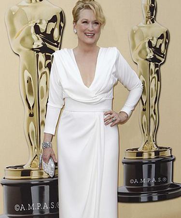 Meryl Strip at Oscars 2010
