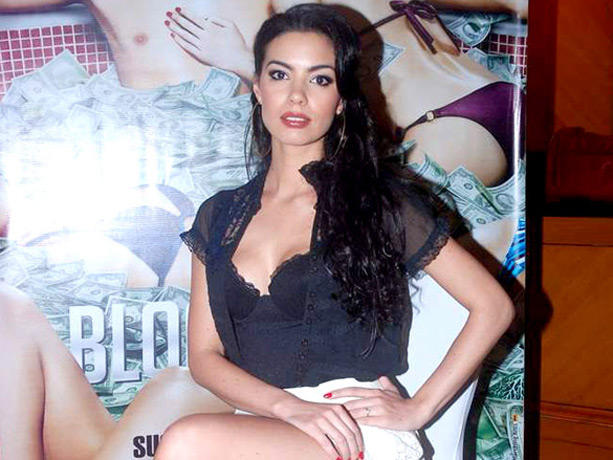 Mia Uyeda Sexy Pose At Blood Money Promotional Event At JW Marriott