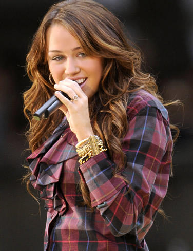Miley Cyrus Silky Hair Stunning Pic