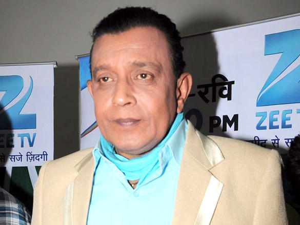 Mithun on the sets of Dance India Dance