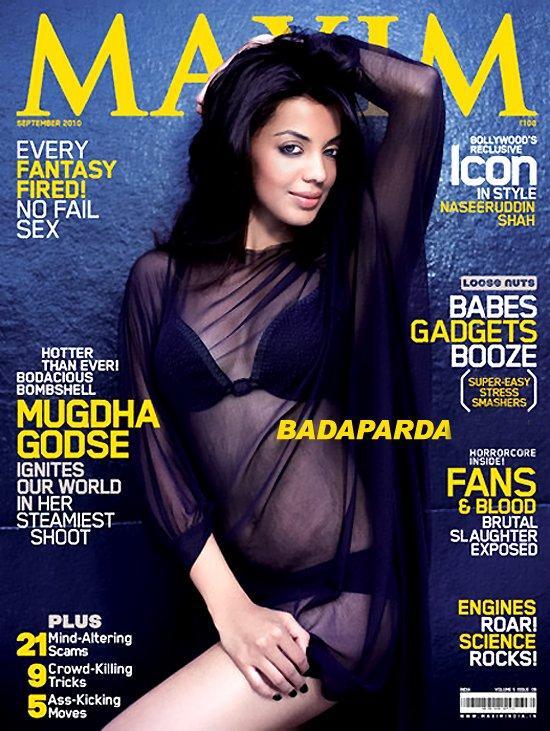 Mugdha Godse Maxim India Magazine