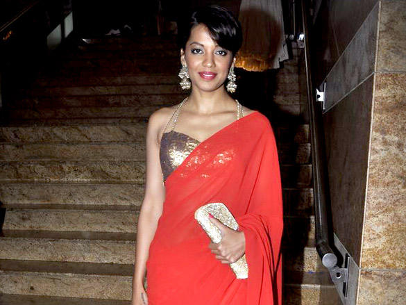 Mugdha Godse at Swapnil Shinde's show at Lakme Fashion Week  Day 4