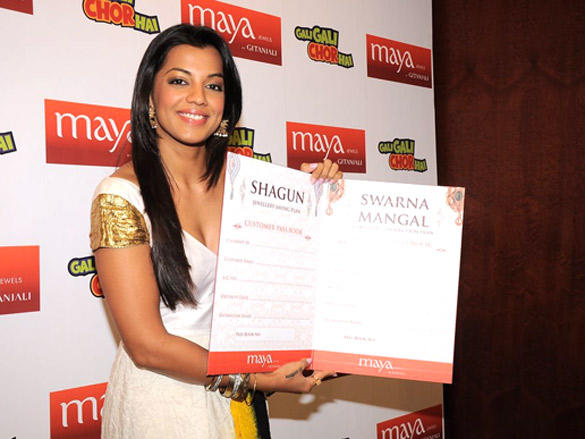 Mugdha Godse launches Gitanjali's jewellery saving plan