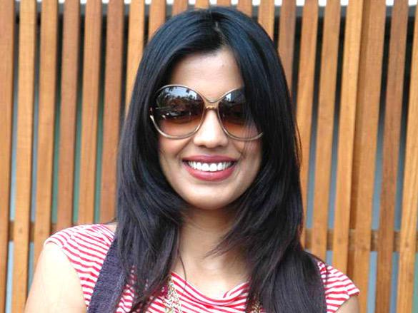 Mugdha Godse looking very hot wearing goggles