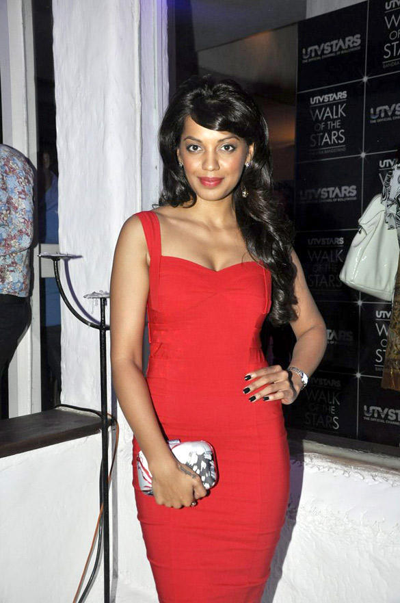 Mugdha Spotted UTV Stars Walk Of The Stars After Party Event