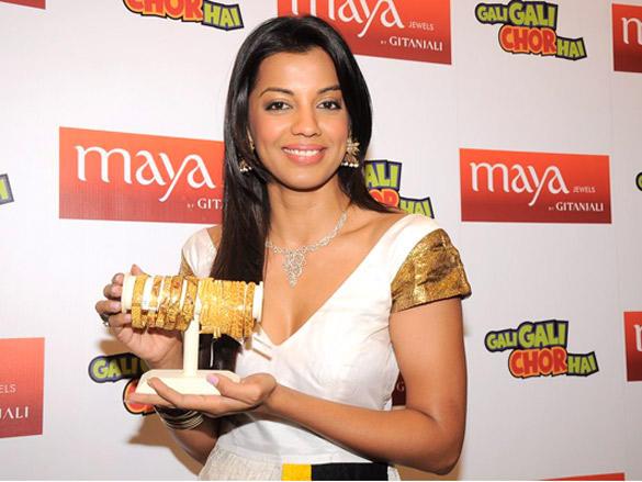 Mugdha launches 'Swarna Mangal'