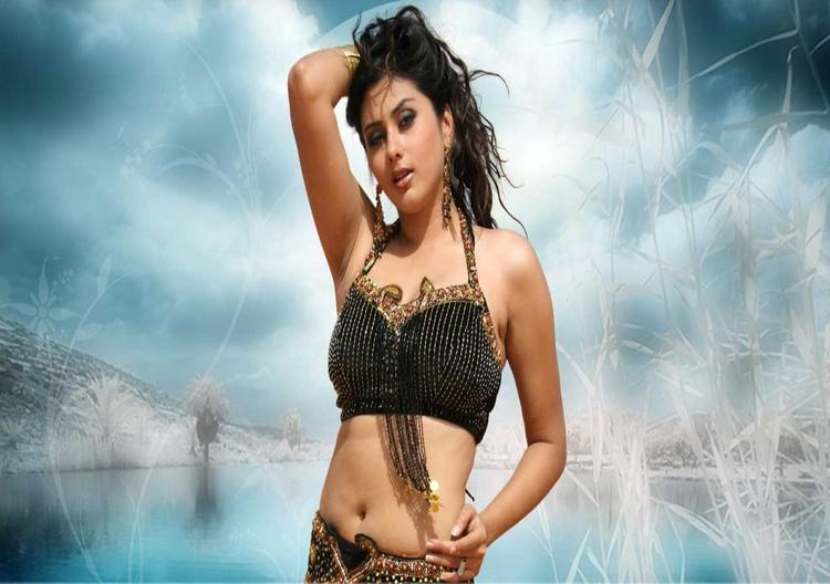 Namitha Hot Navel Show Sexy Still