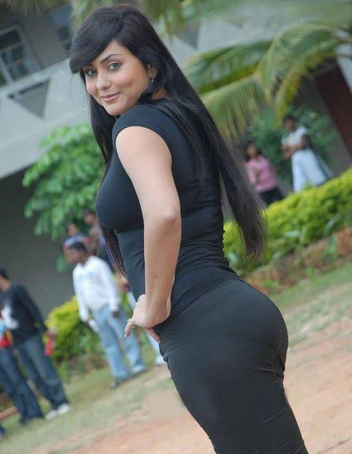 Namitha I Love You Kannada Movie With Black Dress