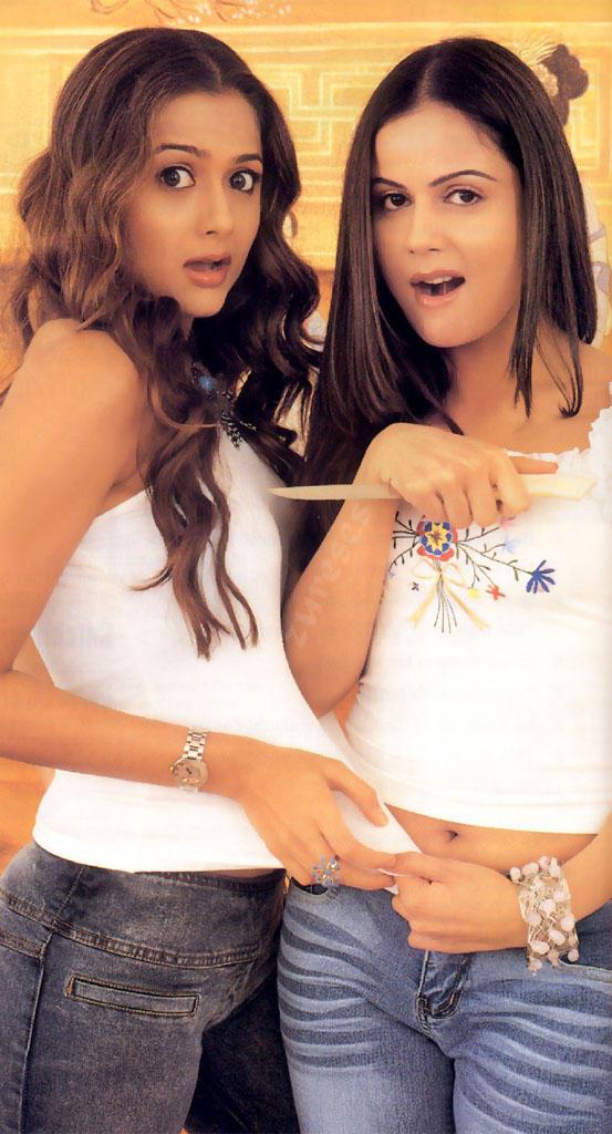 Nandni and Amrita Arora Cute and Sexy Still