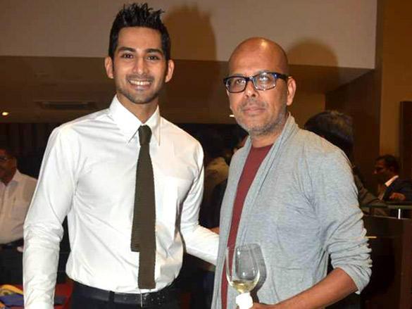 Narendra Kumar at Raymonds' new store Launch