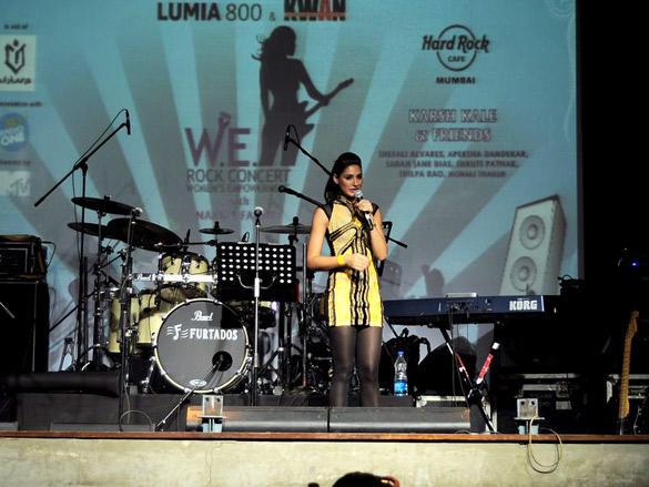 Nargis Fakhri at Nokia Lumia and KWAN W.E. Rock Concert