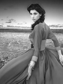 Nargis Fakhri in Harper's Bazaar Jan 2012
