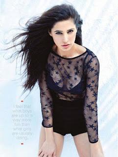Nargis Fakhri sexy cleavages pics