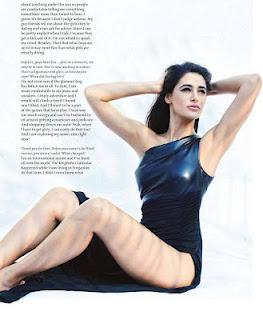 Nargis Fakhri sexy legs photo shoot for Maxim India February