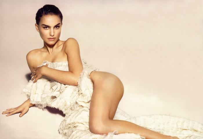 Natalie Portman Without Dress Photo Shoot For Vanity Fair