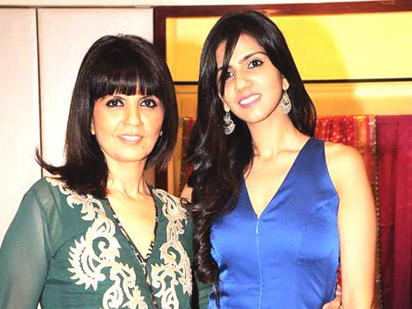 Neeta Lulla with mom Nishka Lulla