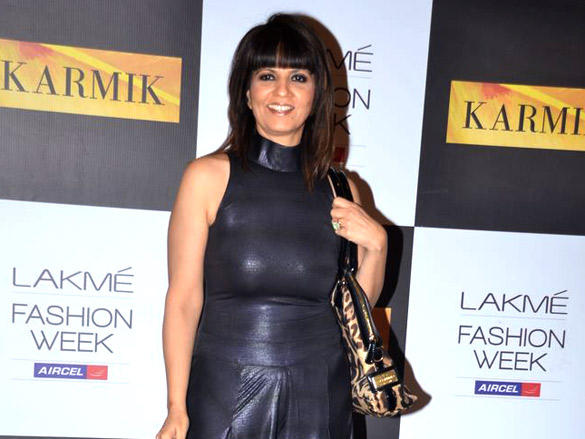 Neeta lulla at Kimaya show at Lakme Fashion Week 2012