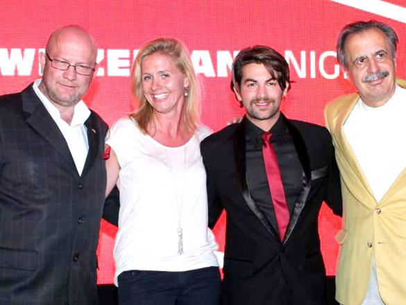 Neil Nitin Mukesh at Switzerland Night Event