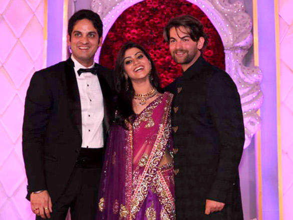 Neil Nitin Mukesh at Vikas Kalantri's wedding reception