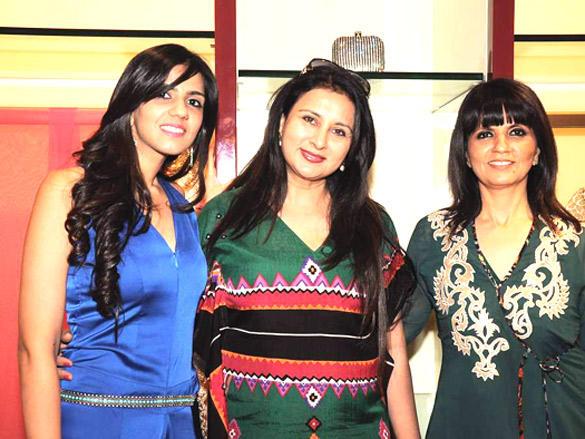 Nishka Lulla,Neeta Lulla,Poonam Dhillion at  Aza