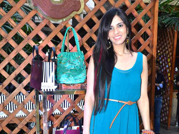 Nishka Lulla at the Launch of Hidesign's Luxury Collection