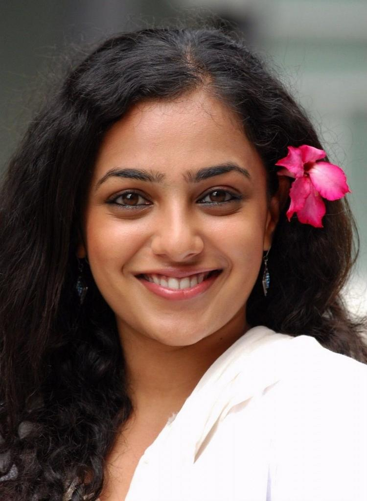 Nithya Menon Beautiful Smile Face
