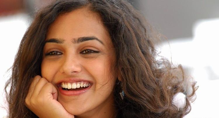 Nithya Menon Gorgeous Smile Stunning Pic